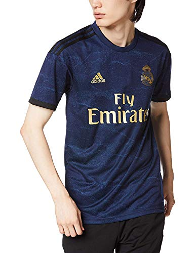 adidas Men's Real Madrid Away Jersey 2019-2020 (Medium) Night Indigo