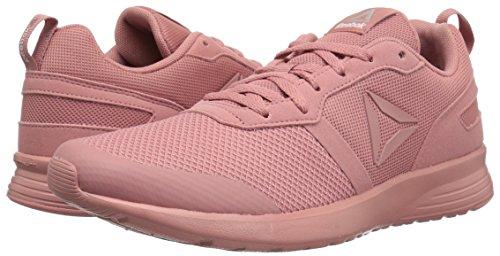 Reebok Women's Foster Flyer Track Shoe,Sandy Rose/White/Matte Silver,9 M US by Reebok (Image #6)