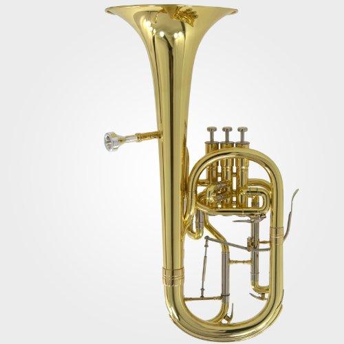 [해외]쉴러 에딘버러 엘리트 Eb 알토 혼 - 골드 래커/Schiller Edinburg Elite Eb Alto Horn - Gold Lacquer