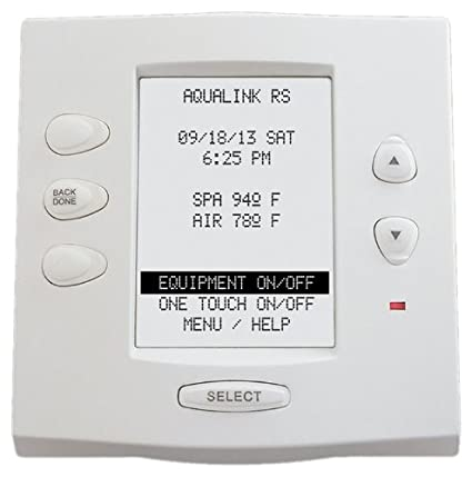 amazon com zodiac 7953 complete white surface and flush mount rh amazon com aqualink rs4 instruction manual jandy aqualink rs4 owner's manual