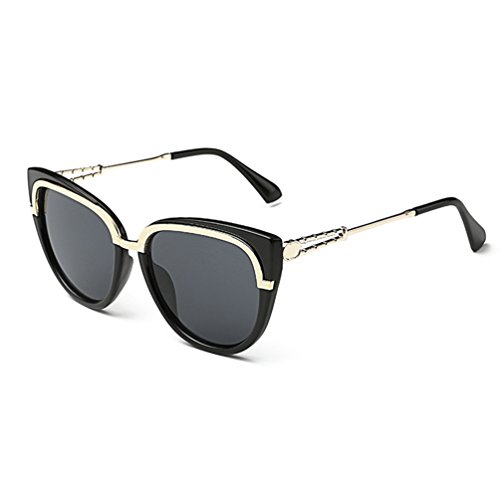 Tansle New Fashion Round Cateye Mirrored Sunglasses For Women Classic Style Vintage Inspired - Berlin Sunglasses Ice