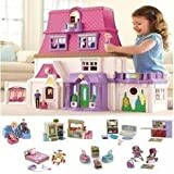 fisher price loving family dollhouse toys games. Black Bedroom Furniture Sets. Home Design Ideas