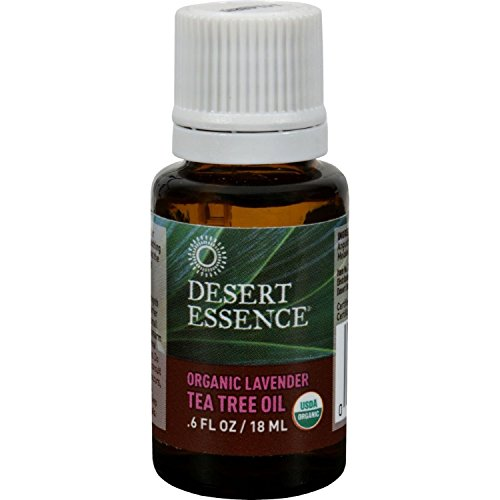 Desert Essence, Oil Tree Tea Lavender Organic, 0.6 Fl Oz