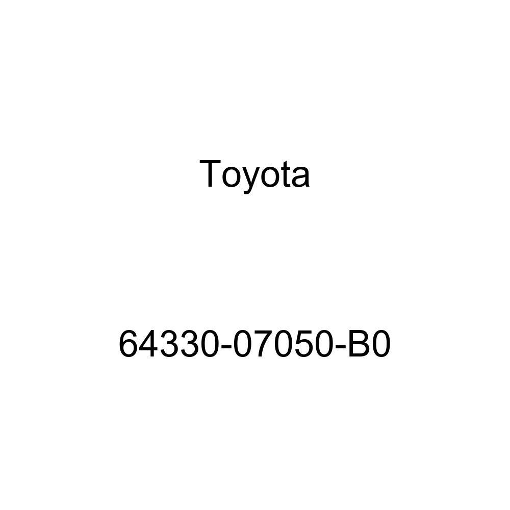 TOYOTA 64330-07050-B0 Package Tray Trim Board