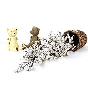 Forart Global Babys Breath Fabric Cloth Artificial Flowers European Fake Silk Plants Decor Wedding Party Decoration Bouquets Real Touch DIY Home Garden 98