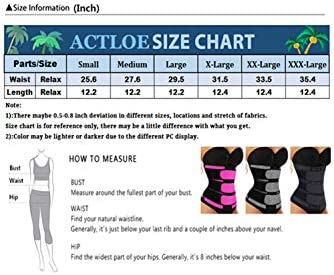 Actloe Womens Corset Waist Shaper Waist Trainer Corset Girdle Belt Trimmer Shapewear
