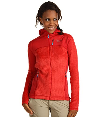 Mountain Hardwear Monkey Woman Grid Jacket - Women's Poppy Small (Mountain Hardwear Monkey Woman Jacket)