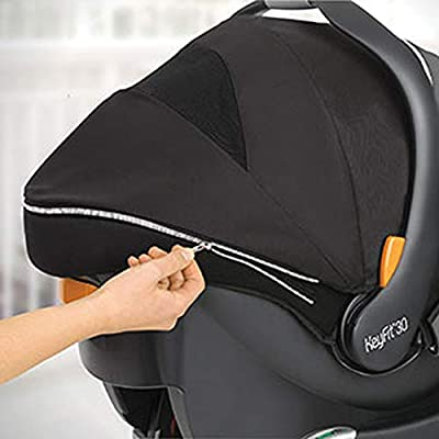 Chicco KeyFit 30 Zip Infant Car Safety Seat System and Shuttle Frame Stroller