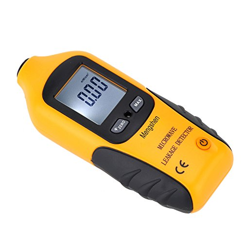 Mengshen® Digital Microwave Leakage Detector 0-9.99 mW/cm2 2450MHz with Backlight No Need Recalibration LCD Display High Sensitivity to Radiation Built-in Alarm Function MS-M2