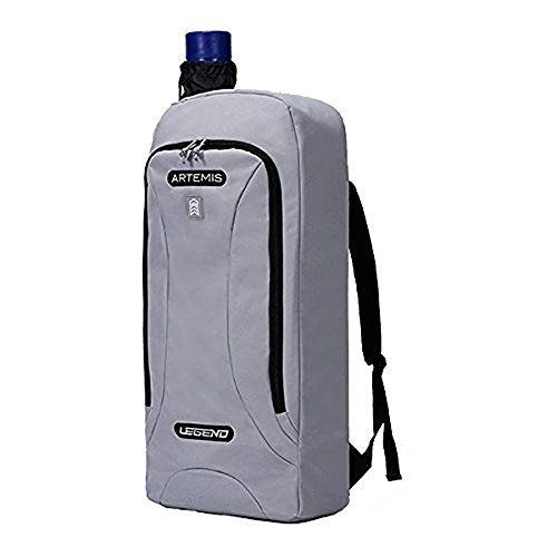 Legend Archery Artemis Archery Backpack for Recurve Bow up to 27 (silver)