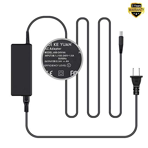 TFDirect 24V AC DC Adapter for Resmed S10 Series ResMed Airsense 10 Air sense S10 AirCurve 10 Series CPAP and BiPAP Machines,90W Resmed S10 370001 Replacement Power Supply Cord Cable Charger ()
