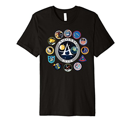 NASA Program Shirt Project Apollo Mission Patch T-Shirt
