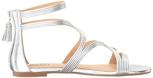 Badgley Mischka Women's Torrence Dress Sandal Silver 8EHG4