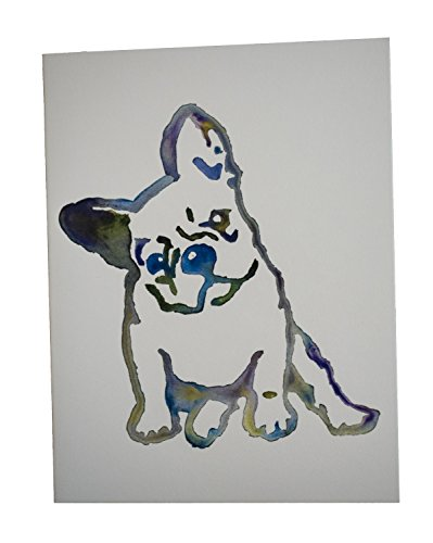 Pamela Gillette Dog Note Cards (Chloe the Frenchie)