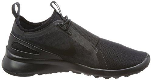 Glissement Actuel De Nike Hommes Sur La Chaussure Occasionnelle Noir / Noir / Blanc
