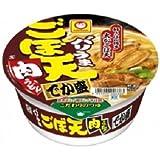 マルちゃん バリうまごぼ天肉うどん でか盛  1箱:12食入り 九州限定品