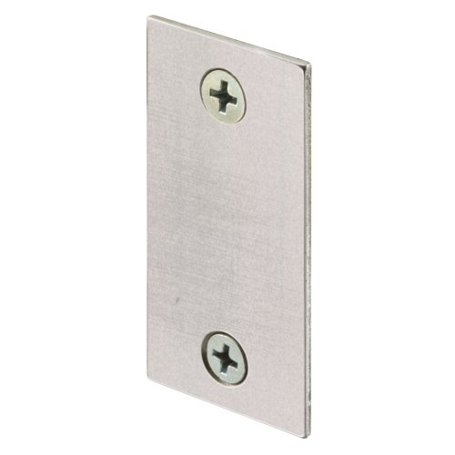 Defender Security U 10678 Door Edge Filler, 1-1/8-Inch, Stainless Steel