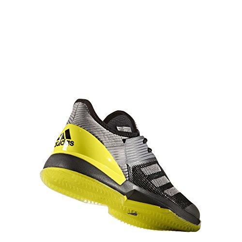 adidas Adizero Ubersonic 3 W Clay, Zapatillas de Tenis para Mujer Negro (Negbas / Plamet / Amabri)
