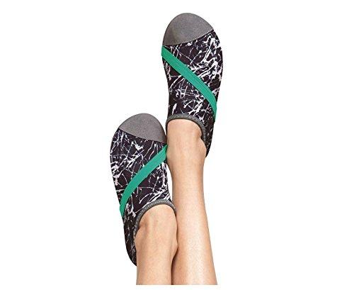 Fitkicks Scarpe Da Donna Con Portafoglio Fitwrist, Scarpa In Grafite E Portafoglio Nero