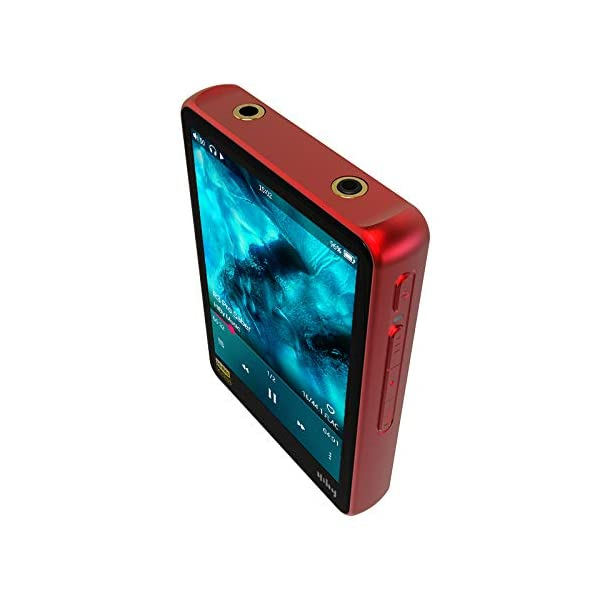 Hi-Fi Lossless MP3 Player, Hi-Res Music Player with Bluetooth Audio Player Supporting WiFi with Full Touch Screen 6