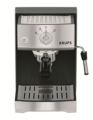 krups pump espresso machine with krups precise tamp. Black Bedroom Furniture Sets. Home Design Ideas
