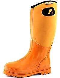 Women's Classic High Ultra Soft Neoprene Waterproof Rubber Rainboot Mid Calf Warm Winter Snow Boots