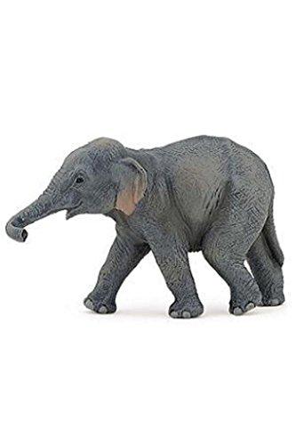 Asian Elephant Animals - Papo Baby Asian Elephant Wild Animal Figure 50132 New
