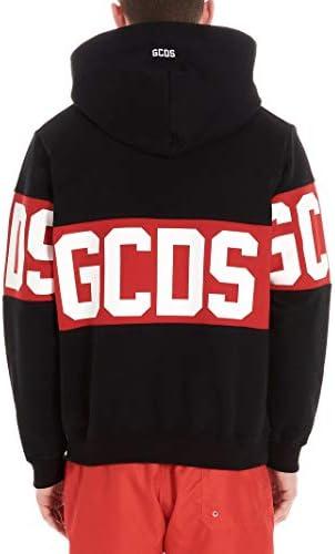 GCDS Luxury Fashion Herren CC94M02101302 Schwarz Baumwolle Sweatshirt | Jahreszeit Permanent