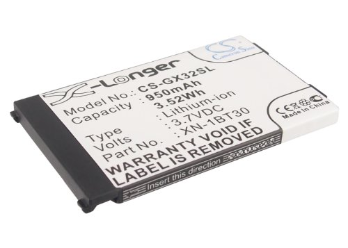 Replacement Battery for Motorola V750 Sharp 550SH GX15 GX17 GX25 GX29 GX293 GX30 GX30c GX30i GX31 GX32 GX40 GX-E30 GX-F200 GX-L15 GX-T15 GX-T17 Part NO Motorola SNN5828 Sharp CE-BL150 XN-1BT30