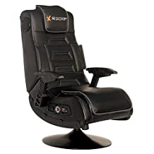X Rocker Pro Series Pedestal Video Gaming Chair, Wireless, Black