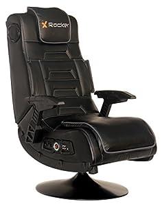Black home entertainment chair
