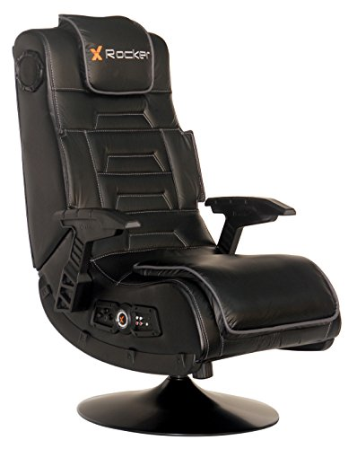 - X Rocker 51396 Pro Series Pedestal 2.1 Video Gaming Chair, Wireless