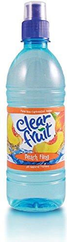 Clear Fruit Peach Fling Bottle product image