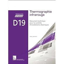 Thermographie infrarouge D19 : Document technique pour le contrôle d'installations électriques