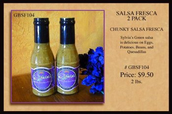 UPC 891419000145, Sylvia's Salsa Fresca 2 Pack