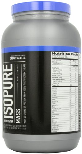 Natures Best Isopure Mass