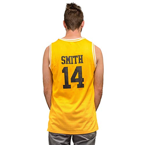 Bel Air Basketball Jersey Smith Gold/Yellow #14 (Adult -