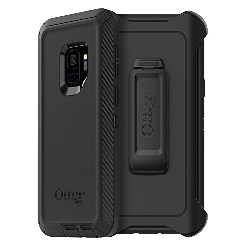 OtterBox DEFENDER SERIES Case for Samsung Galaxy S9 - Retail Packaging - BLACK (Cases Otterbox Phone)