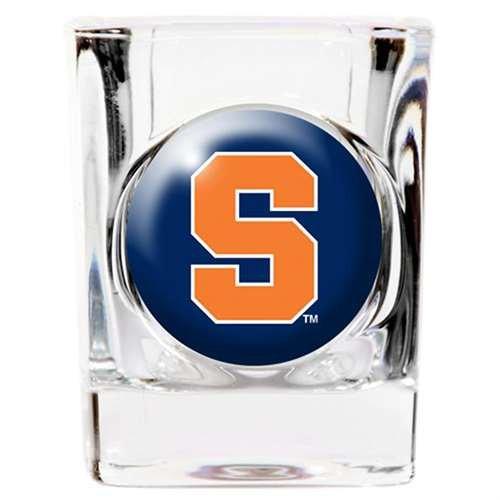 Syracuse Orange Shot Glass - Square 2oz
