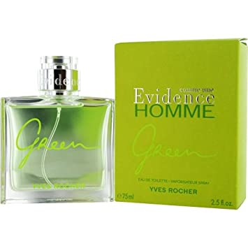 Amazoncom Comme Un Evidence Green By Yves Rocher Cologne For Men