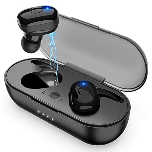 Amuoc Wireless Earbuds, Bluetooth 5.0 Wireless Headphones,