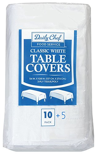 Daily Chef 3 Ply Tissue Covers