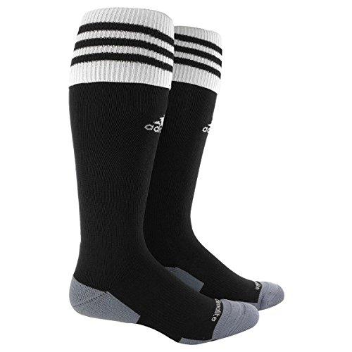 adidas Copa Zone Cushion II Soccer Socks , Black/White,