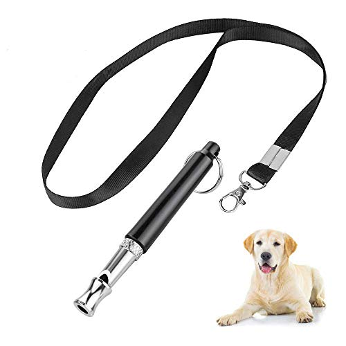 ZDCDEALS Professional Ultrasonic Dog Training Whistle to Stop Barking