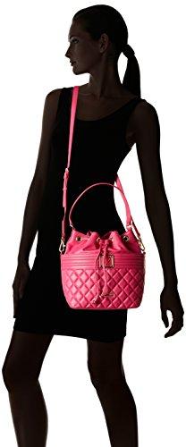 Love Moschino Moschino, Sacs portés épaule femme, Pink (Fuchsia), 13x28x24 cm (B x H T)