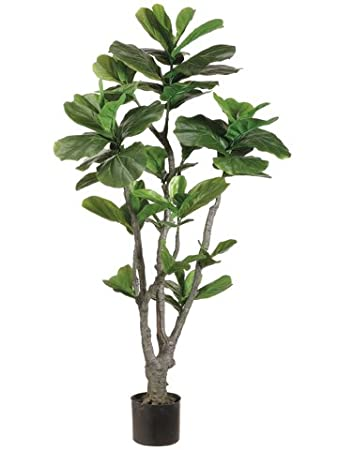 silk plants direct fiddle leaf fig tree pack of 2