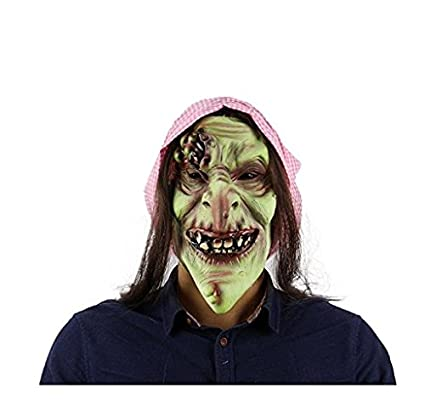 scary evil old witch maskhalloween witch mask old hag snow horror witch mask halloween