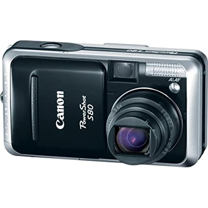 Download Drivers: Canon PowerShot S80