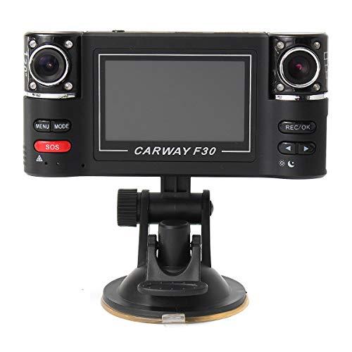 2.7 Inch F30 Dual Camera Lens Car DVR Cam Dash Video Recorder IR Night Vision - Car DVRs Car DVR Camera - 1 X 1080P Dual lens Car DVR, 1 X Mounting Holder