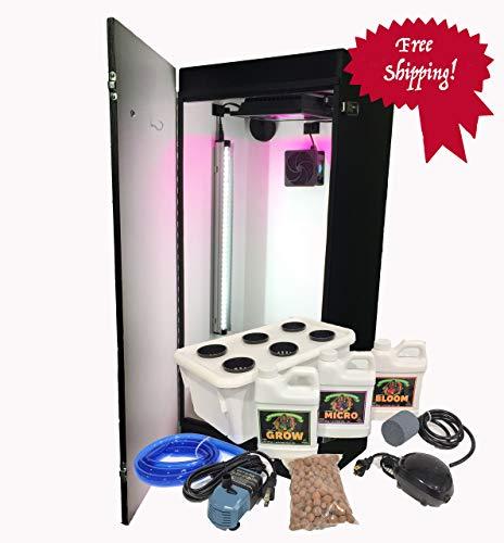 Cash Crop 6.0-2 Plant LED Hydroponics Grow Box (Best Led Grow Box)